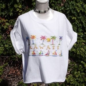 VTG Hawai Vacay CropT-Shirt